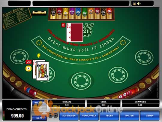blackjack spielen in einem neuen casino